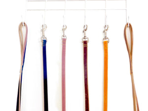 Velvet Dog Leash - Pick your own Color - 4ft - 5ft - 6ft in three different widths