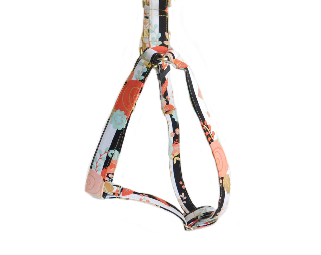 floral girl harness