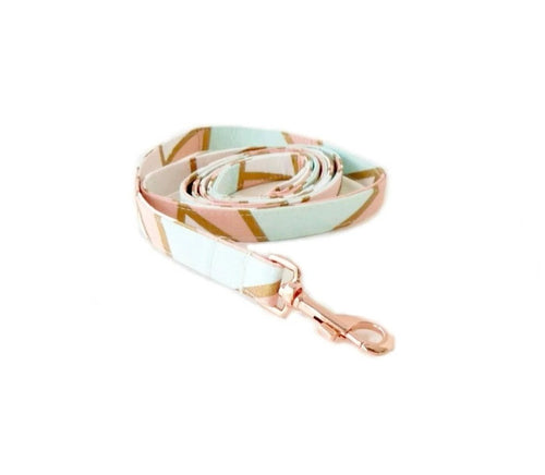 Geo Print Fabric Leash