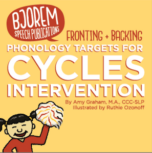 PRE-SALE: Backing & Fronting Phonology Targets for Cycles Intervention
