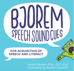 Bjorem Speech Sound Cues - SOLD OUT (Ship Date Mid-May)