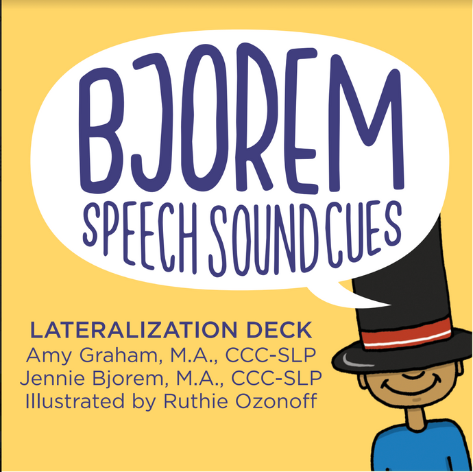 Bjorem Speech Sound Cues Lateralization (SOLD OUT - Will Ship Early March)