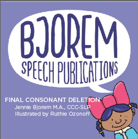 Bjorem Speech Final Consonant Deletion