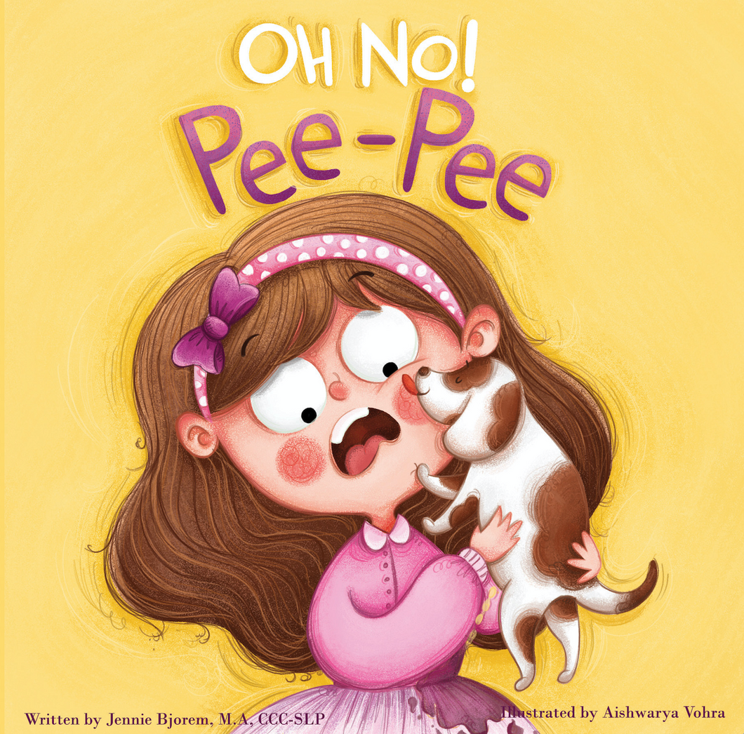 Bjorem Speech- OH NO Pee-Pee Board Book - United States ONLY - PRE-ORDER
