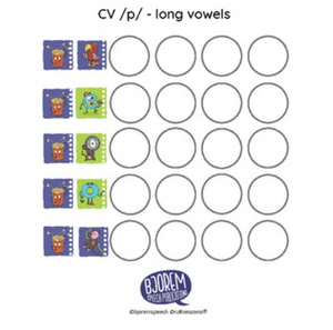 Bjorem Sound Cues - CV Target Sheets Download