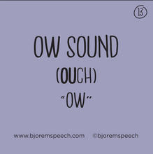 Bjorem Speech Sound Cues - SOLD OUT (Ship Date Late June)