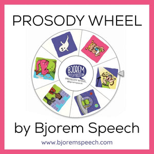 Prosody Wheel by Bjorem Speech