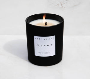 haven: luxurious cedarwood, coconut, vanilla, bamboo