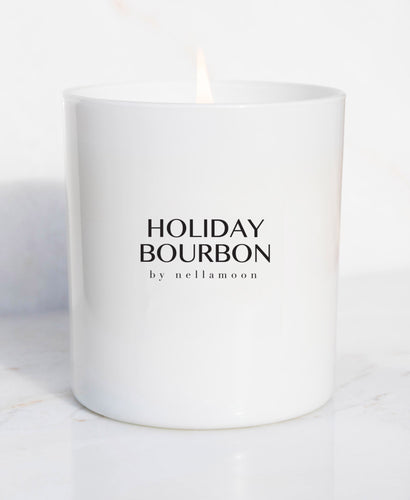 ☆ limited edition ☆ holiday bourbon soft glow candle