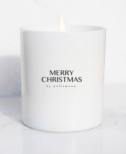☆ limited edition ☆ merry christmas soft glow candle