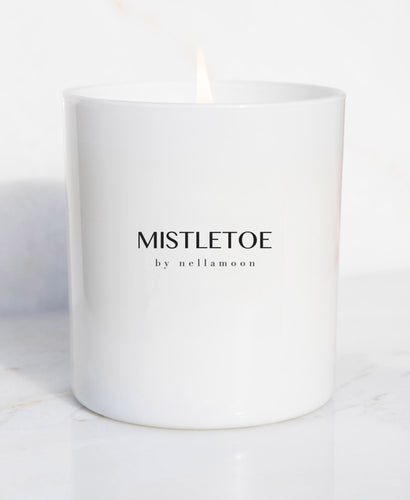 ☆ limited edition ☆ mistletoe soft glow candle