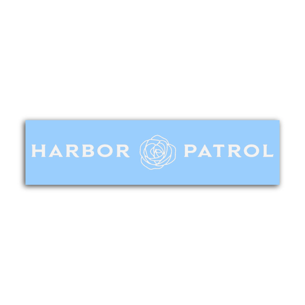 Harbor Patrol Large Sticker