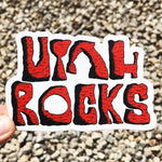 Utah Rocks Sticker