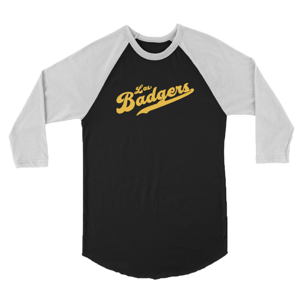 Los Badgers Baseball Tee