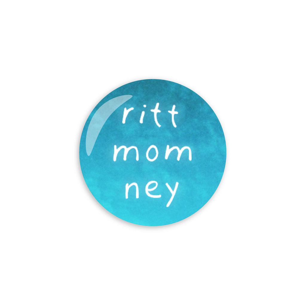 Ritt Momney Blue Button