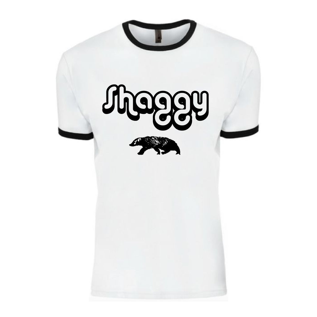 Shaggy Badger Ringer Tee