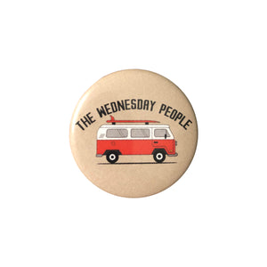 The Wednesday People Van Button