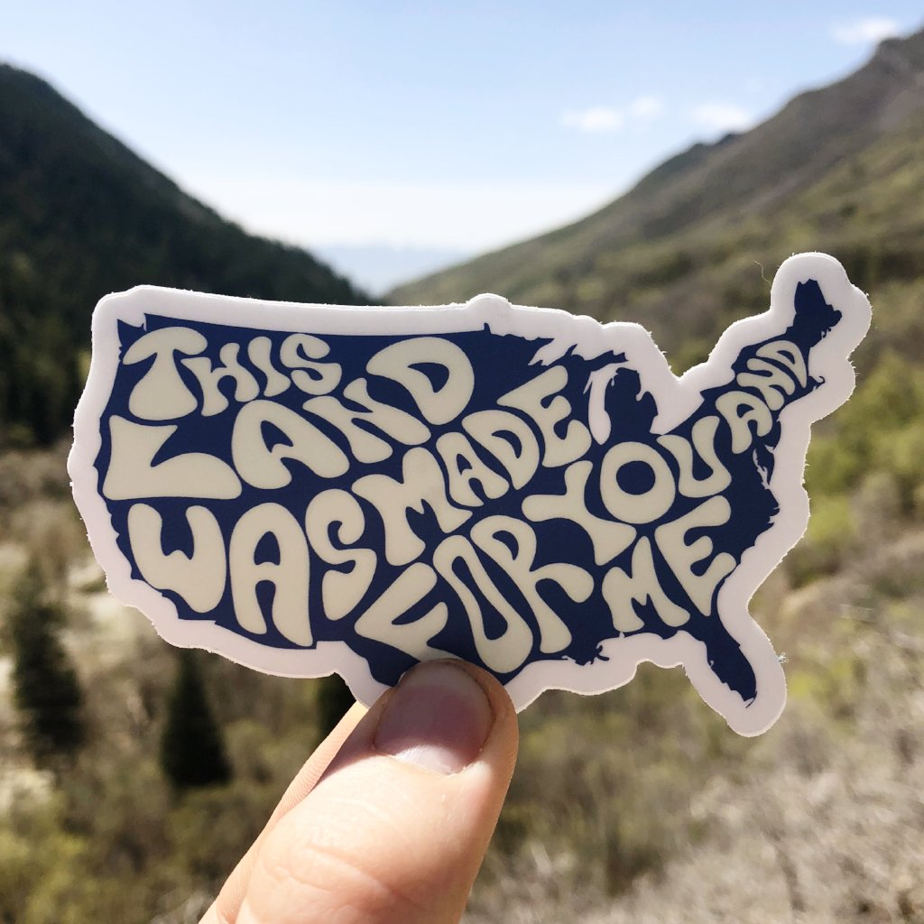 This Land... Sticker