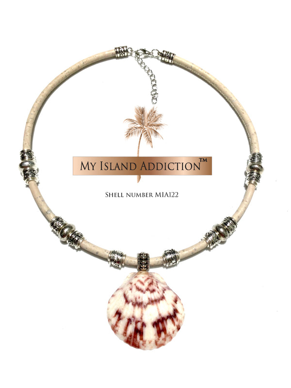 Sanibel Shell Choker Necklace MIA122