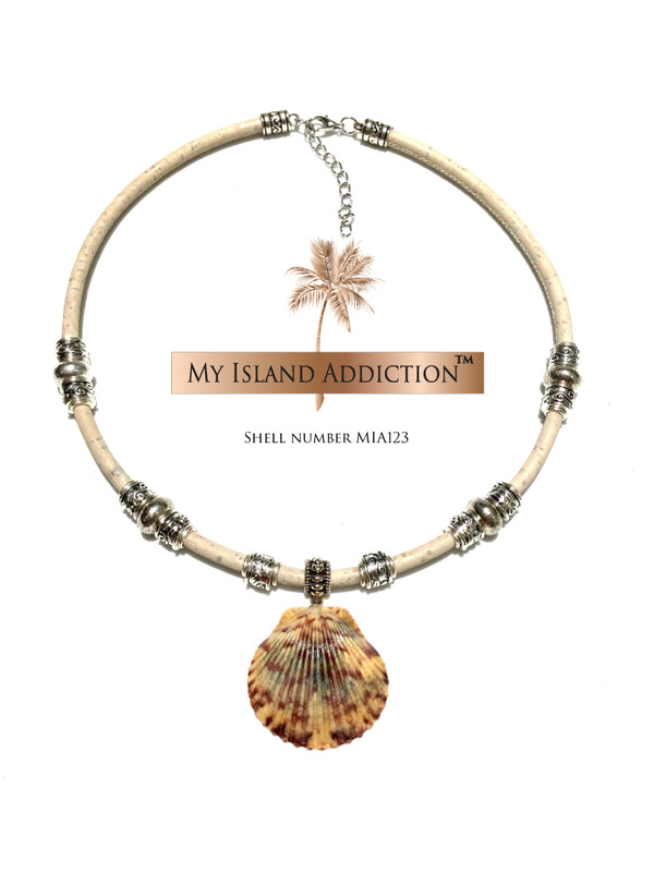 Sanibel Shell Choker Necklace MIA123