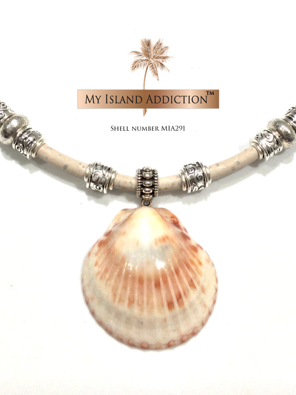 Island Sun Shell Choker Necklace MIA291UMH