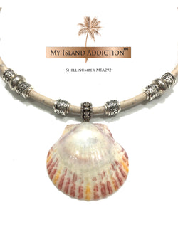 Island Sun Choker Shell Necklace MIA292