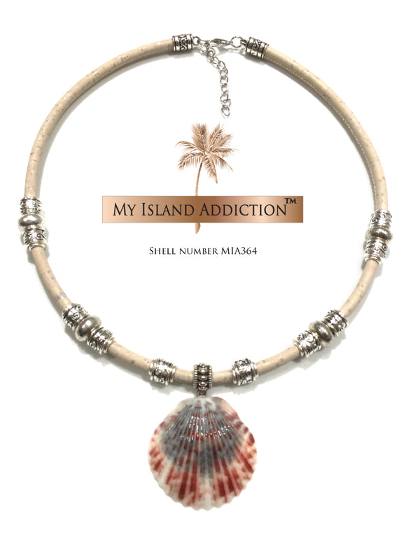 Sanibel Shell Choker Necklace MIA364 by My Island Addiction LLC