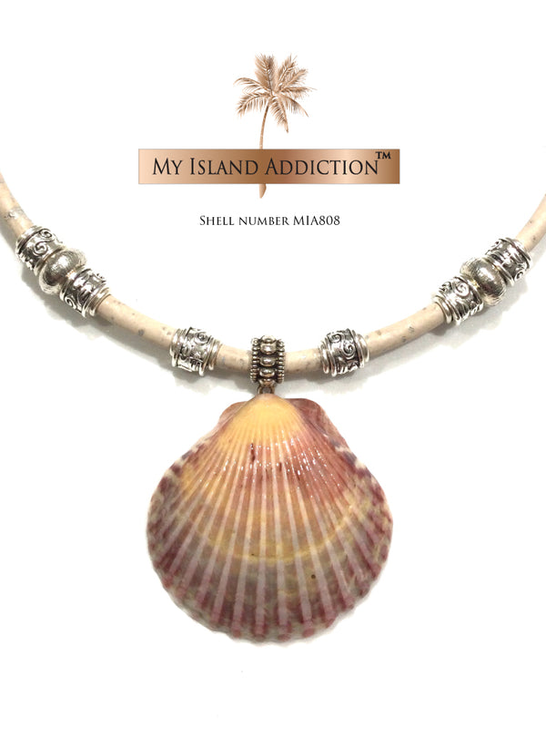Color My World Sanibel Shell Choker Necklace MIA808