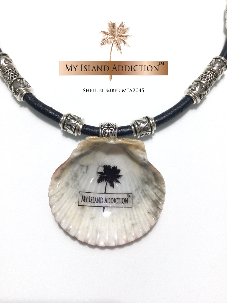Freedom Series Sanibel Shell Choker Necklace MIA2045