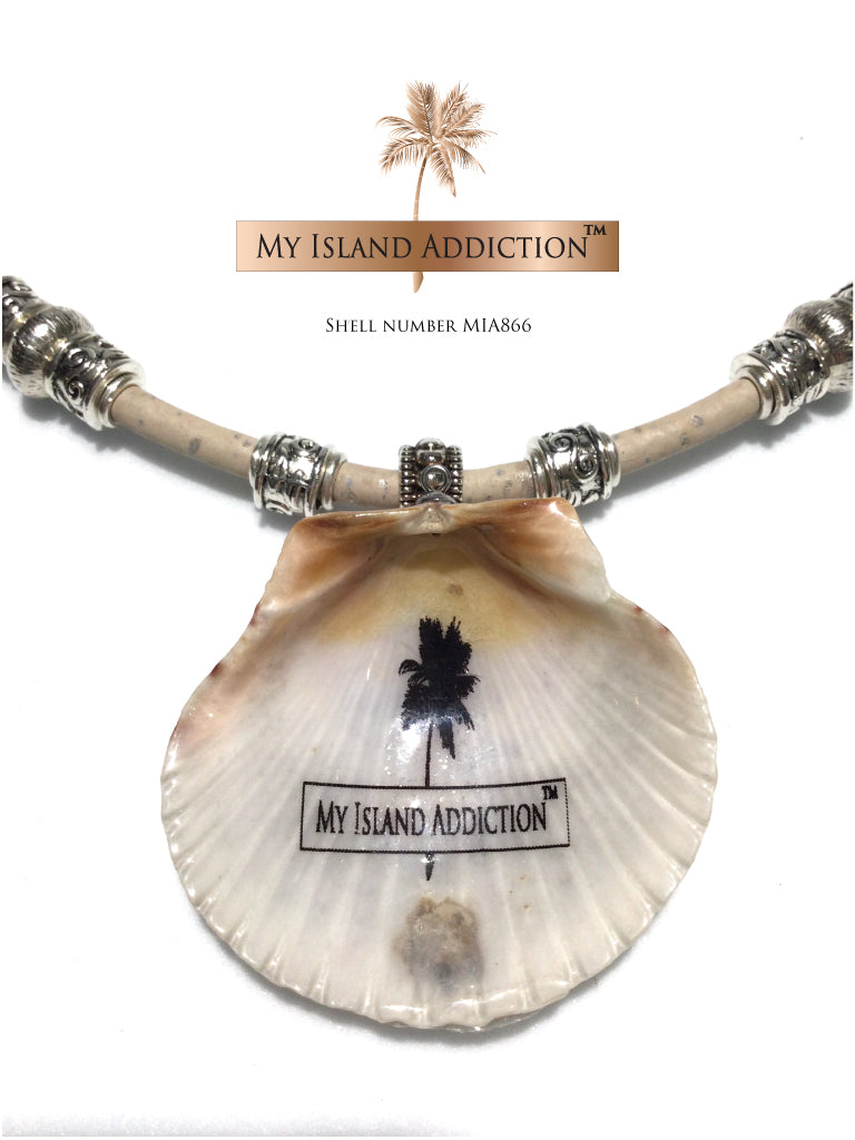 Sanibel Shell Choker Necklace MIA866