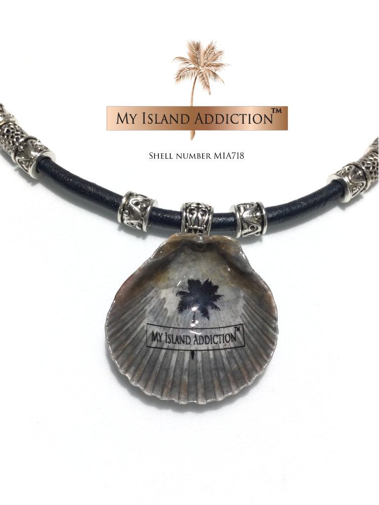 Inner Peace' Coastal Choker Necklace MIA718  (SOLD!)