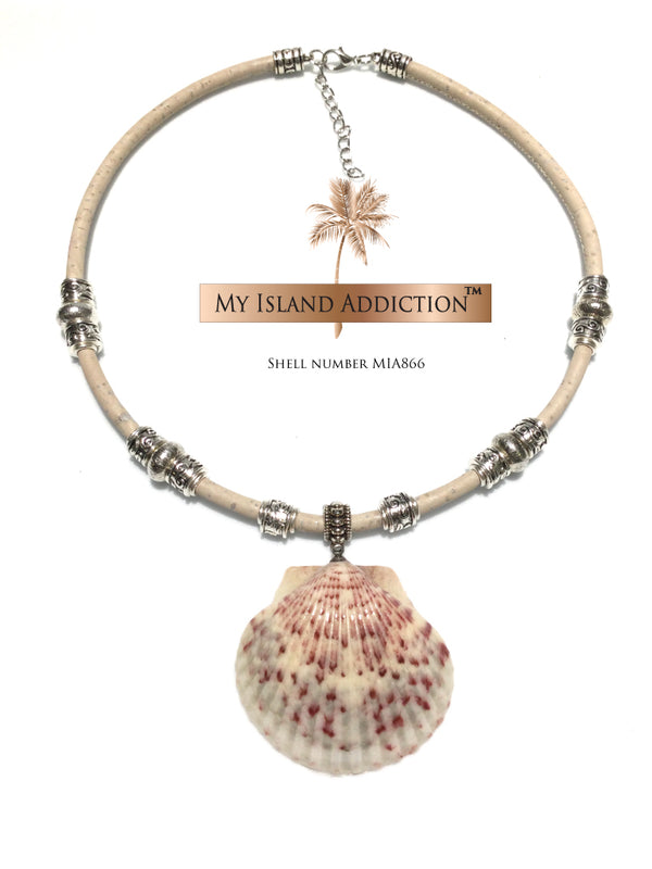 My Island Addiction LLC  Sanibel Shell Choker Necklace