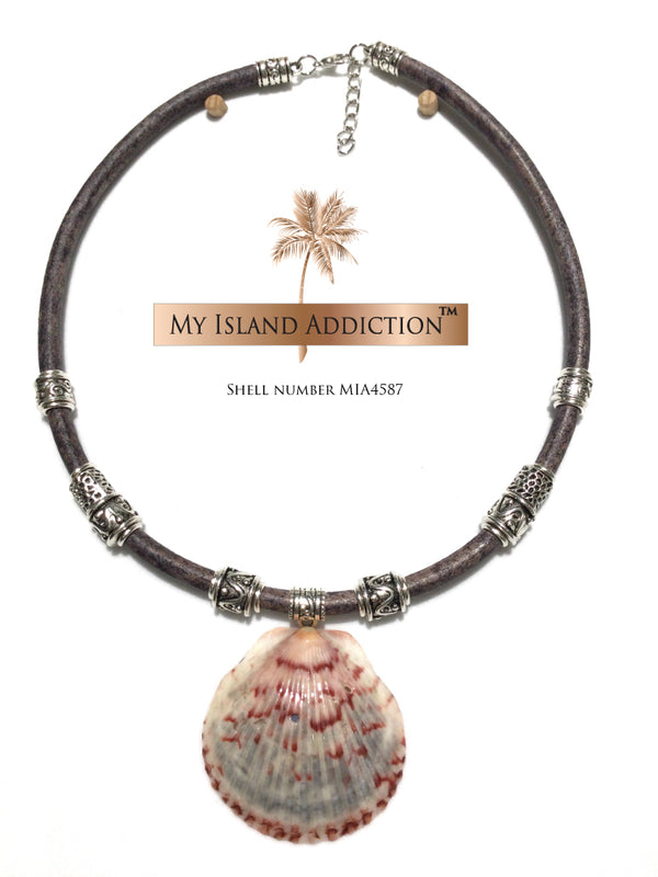 Artisan shell jewelry Inner Peace' Coastal Choker Necklace MIA4587