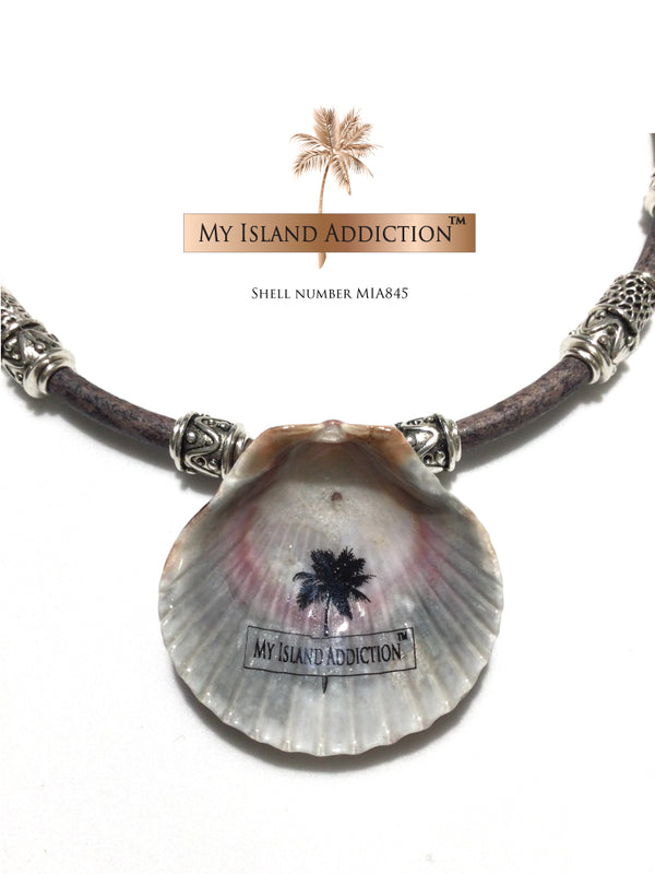 shell choker necklace