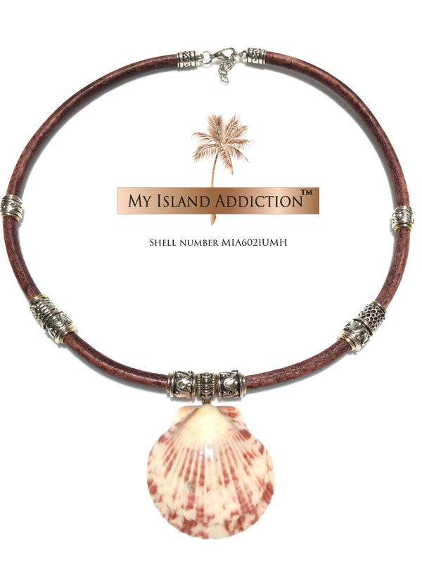 My Island Addiction Ultimate Moonie Halo Shell Choker Necklace