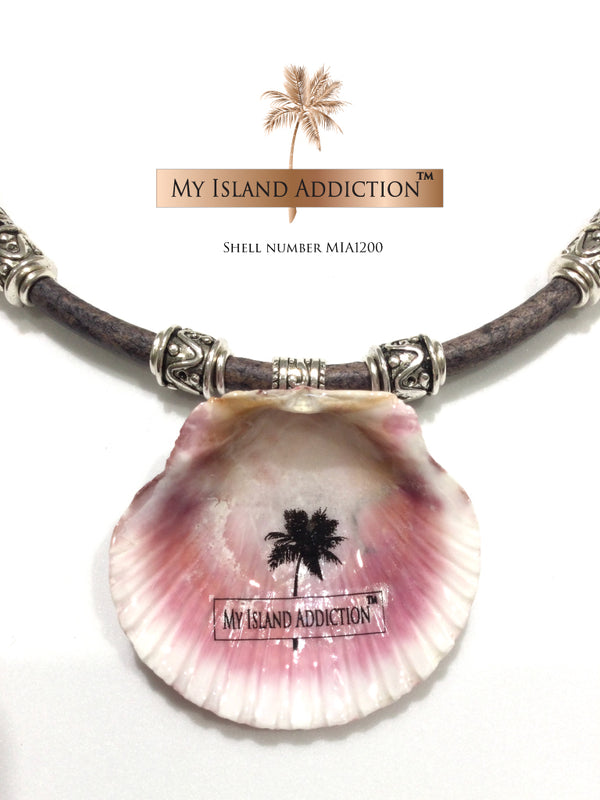 Pretty In Pink Halo Coastal Chocker Necklace