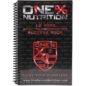 1 Percenter Nutrition Success Journal Book