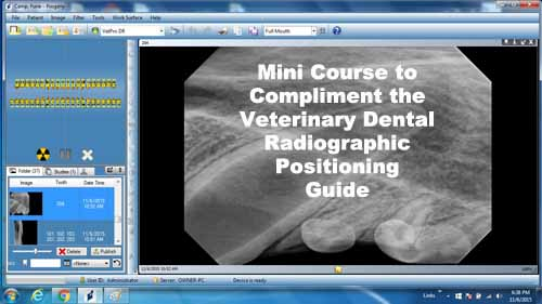 Mini Course to Compliment the Veterinary Dental Radiographic Positioning Guide