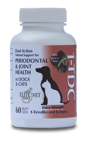 Veterinary Dental 1-TDC Periodontal and Joint Health 60 soft gels 1