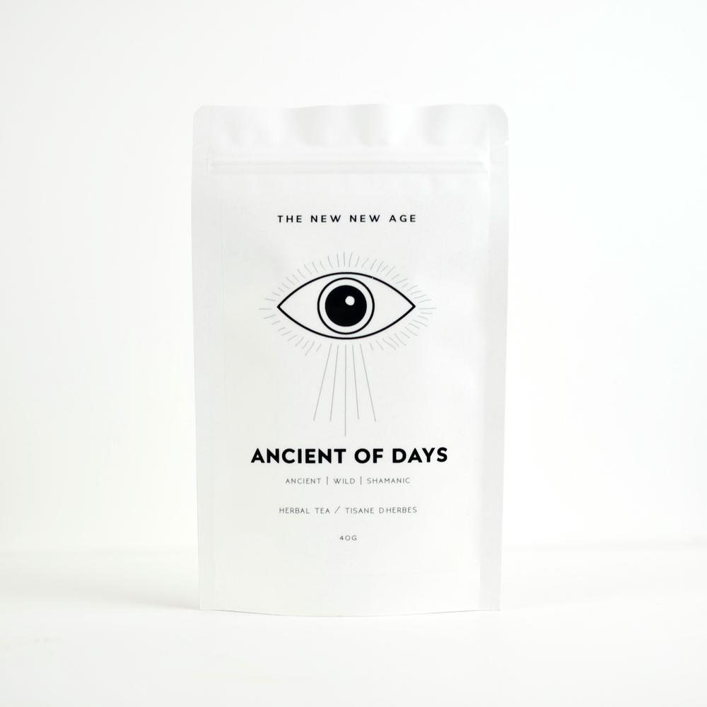 New! Ancient Of Days- Adaptogenic Herbal Meditation Tonic- The New New Age