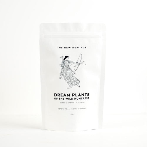 THE NEW NEW AGE -DREAM PLANTS OF THE WILD HUNTRESS // SLEEP TONIC-HERBAL TEA