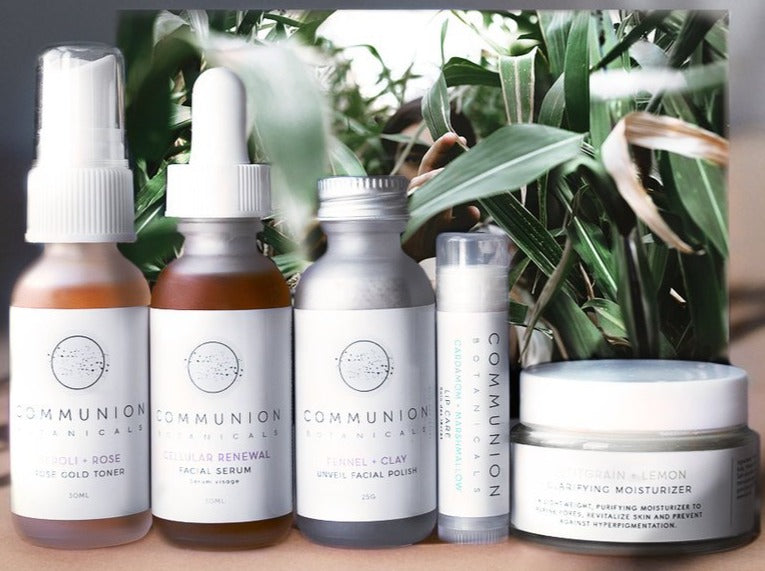 NEW! Communion Botanicals Skin Care Gift Set - For Your Skin Type
