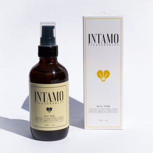 New! Intamo Pleasurables- Wild Thing- Plant Based- Oil Based Lube & Intimate Moisturizer