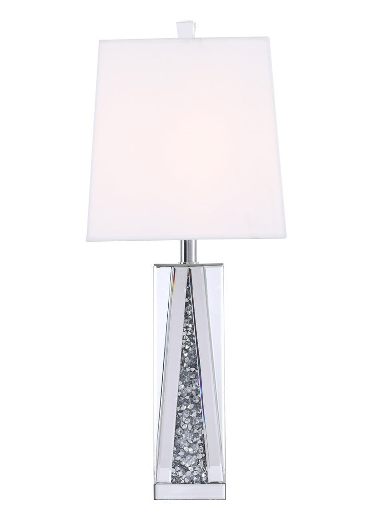 ZC121-ML9334 - Regency Decor: Sparkle Collection 1-Light Silver Crystal Table Lamp