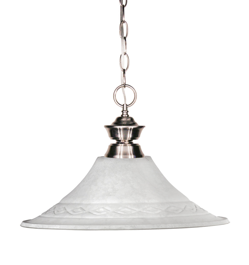 Zlite 1 Light Pendant - C161-100701BN-FWM16