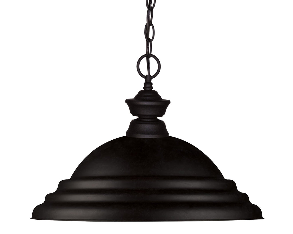 Zlite 1 Light Pendant - C161-100701MB-SMB