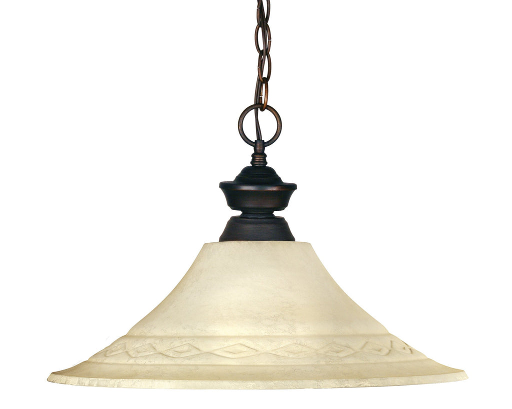 Zlite 1 Light Pendant - C161-100701OB-FGM16
