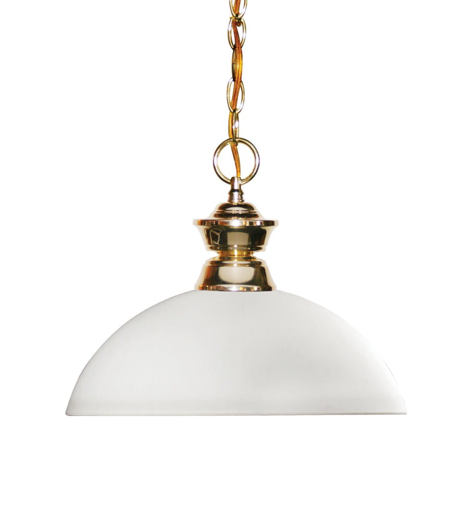 Zlite 1 Light Pendant - C161-100701PB-DMO14