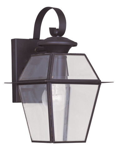 Livex Westover 1 Light Bronze Outdoor Wall Lantern - C185-2181-07