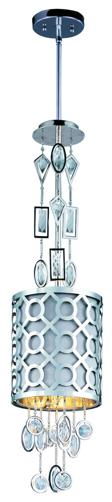 Symmetry 1-Light Pendant Polished Nickel - C157-22383STPN